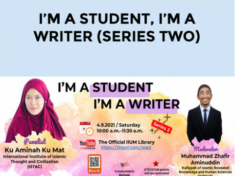 I'M A STUDENT, I'M A WRITER (SERIES TWO)