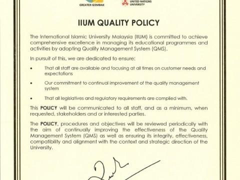 ISO 9001:2015 Internal Audit Exercise - KOM