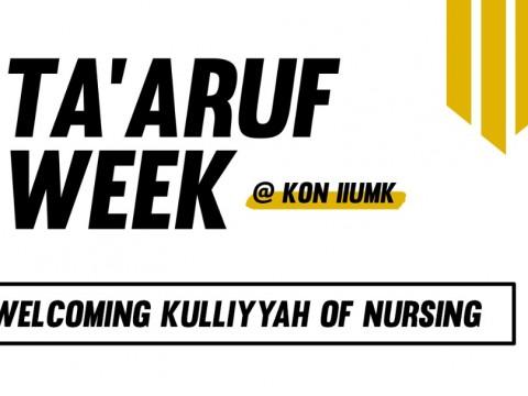 IIUM TA'ARUF WEEK @KON