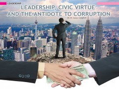 Leadership, Civic Virtue and the Antidote to Corruption
