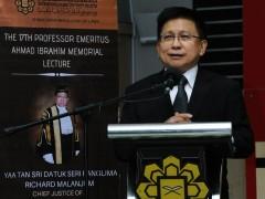 THE 17th PROFESSOR EMERITUS AHMAD IBRAHIM MEMORIAL LECTURE