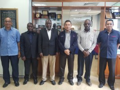 Visit and Sharing session with Islamic University In Uganda
