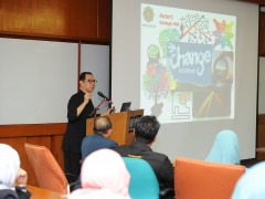 IIUM Rector started a series of visits to all Kulliyyahs