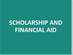 Application of Financial Assistance/Scholarship for Semester 2 2018/2019 (Kuantan)