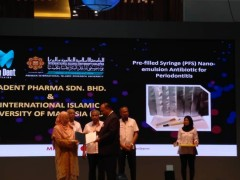 Congratulations to Asst. Prof. Dr. Mohd. Affendi on the prestigious award!