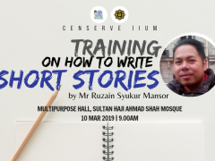 WRITING WORKSHOP; CREATIVITY BY THE EXPERT