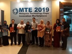 GOLD MEDALS FOR INHART - Malaysia Technology Expo (MTE 2019)