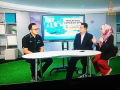Our Senior Counselor with TV HIJRAH