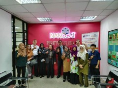 ​  Visit to NANOCAT - UM for potential research collaboration.