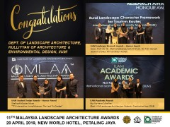 11th MALAYSIA LANDSCAPE ARCHITECTURE AWARDS