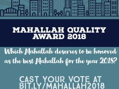 MAHALLAH AWARD 2018