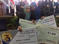 3MT 2019 Final Competition Winner - Dr. Wan Fatein (KOM)