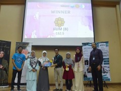 IIUM Team Won the 5th MyPSA National Clinical Pharmacy Challenge 2019 (NCPC 2019)