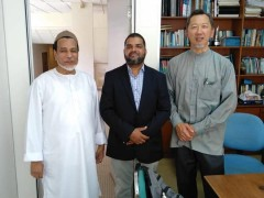 A Meeting on India International Halal Expo 2020