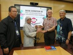 Book Donation Event at IIUM Main Library (Dar Al-Hikmah).