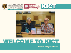 Welcome to KICT - Prof. Dr. Zbigniew Ficek (Visiting Professor)