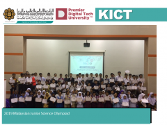 2019 Malaysian Junior Science Olympiad