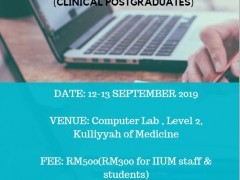 Biostatistics Workshop