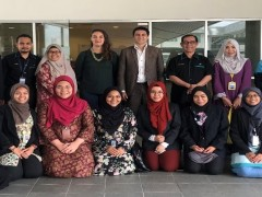 IIUM Pagoh : Visit By Embassy Of French Delegates & Launch Of KLM's  French Room