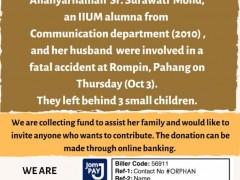 Donation Drive - Childern of Allahyarhamah Surawati Mohd