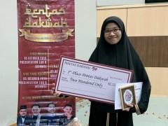 Female finalist wins Pentas Dakwah 4.0