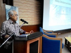 "Academic Lecture by National Laureate Muhammad Haji Salleh - ""Malay Literature and Islam"""