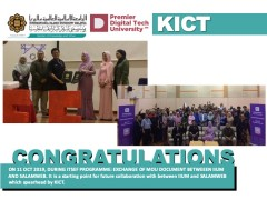 EXCHANGE OF MOU DOCUMENT BETWEEEN IIUM AND SALAMWEB