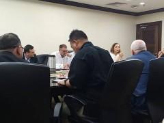 INHART representatives  for a meeting with the Düzce University Turkey