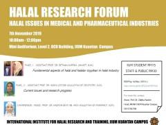 Halal Research Forum by Kuantan INHART Unit