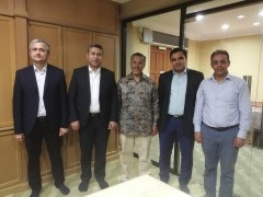 Visit by the delegation from the first Islamic Bank in Tajikistan