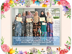 IIUM Pagoh:  Appreciation Ceremony for Exchange Students from Japan and Thailand.