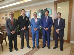 Meeting with Deputy Minister of MOTAC
