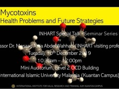Open invitation INHART Seminar Series 8/2019