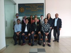 Delegates from Sultan Kudarat State University, Philippines