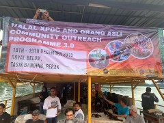 Halal XPDC and Orang Asli Community Outreach Programme 3.0