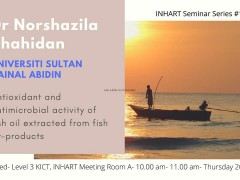 Invitation to INHART Seminar Series 10/2019