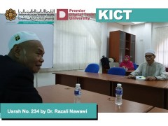 Usrah No. 234  with Naqib Dr. Razali Nawawi