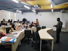 Two Days Workshop on SPSS and AMOS at Manipal Iternational University, Nilai