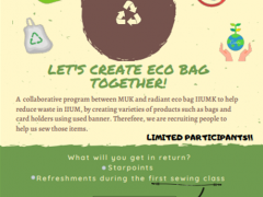Recruitment for MUK ECO BAG PROJECT