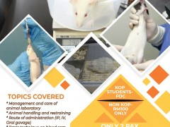 BMS TRAINING SERIES: BASIC ANIMAL LABORATORY HANDLING, CARE AND USE