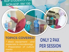 BMS TRAINING SERIES: BASIC TECHNIQUE IN MICROBIOLOGY