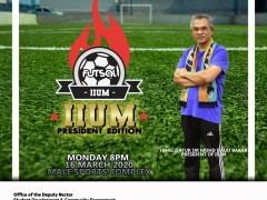 IIUM PRESIDENT EDITION IN CONJUNCTION WITH TAKRIM MONTH 2020