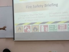 Fire Safety Briefing, Roles and Responsible for IIUM ERT Gombak Campus - Series 1