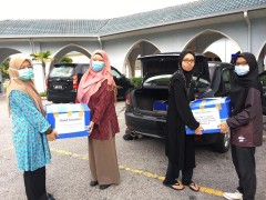 INHART Hand Santizer Project with Islamic Relief Malaysia