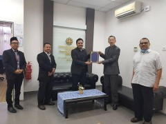 ​LoI signing on Halal related activities between INHART and MISDEC Melaka
