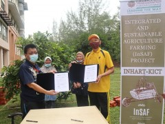 LOI Signing on Integrated and Sustainable Agriculture Farming (InSAF) Project