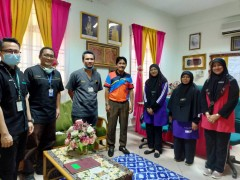 Snoezelen Flagship project SASMEC with Asst. Prof. Dr. Muhamad Azamin Anuar