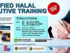 Certified Halal Executive Training 2020