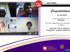 Congratulations  to Br. Adel Rashid
