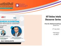 IIIT Online Intellectual Discourse Series No. 18